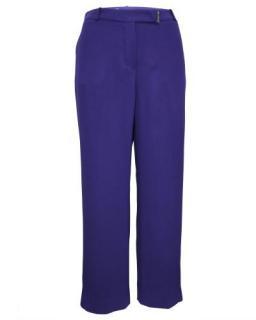 Loro Piana Purple Tailored Wide Leg Pants