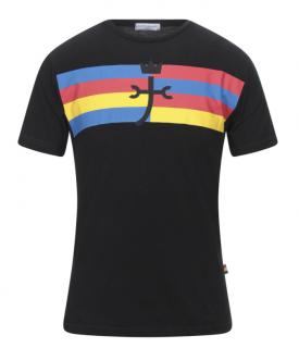 JC de Castelbajac Black Jersey Printed T-Shirt