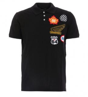 DSquared2 Pique Polo Patches T-Shirt