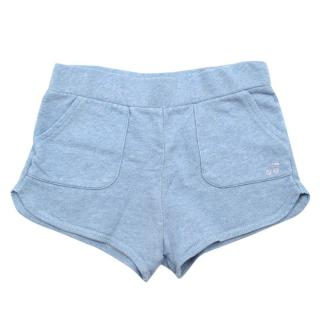 Bonpoint Blue Cotton Girls Shorts
