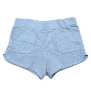 Bonpoint Blue Cotton Girls Shorts