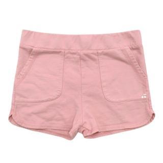 Bonpoint Pink Cotton Girls Shorts