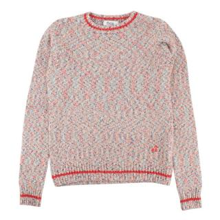 Bonpoint Multicolour Cotton Blend Knit Jumper