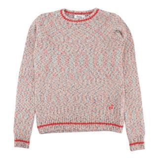 Bonpoint Multicolour Cotton Blend Knit Jumper