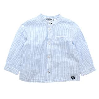Tartine et Chocolat Blue & White Striped Boys' Shirt
