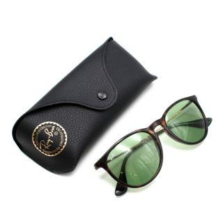 Ray-Ban Erika Tortoise Green Lenses RB4171 Sunglasses