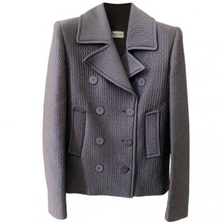 Philiosophy Di Alberta Ferretti Purple Textured Jacket