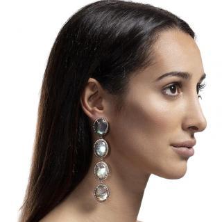 Opuline Labradorite Lina Drop Earrings