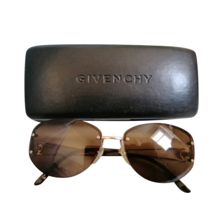 Givenchy Vintage Brown/Gold Sunglasses