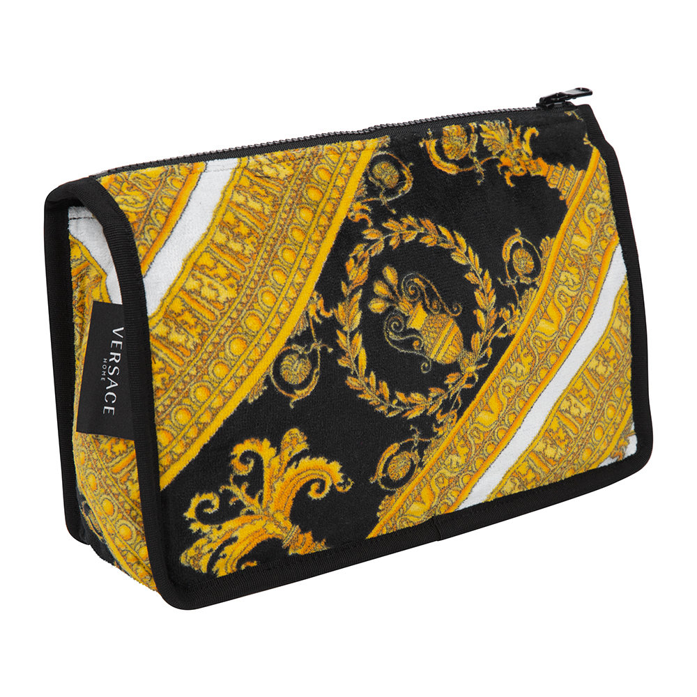 Versace Home Baroque Print Wash Bag/ Cosmetic Case