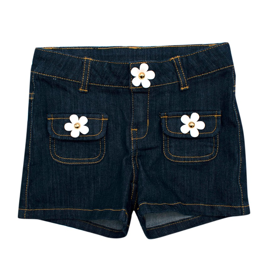 Little Marc Jacobs Denim Daisy Shorts