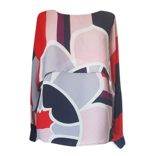 Max & Co Printed Double Layer Top
