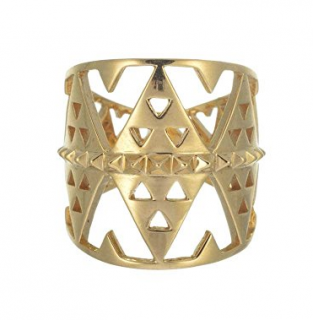 Zoe & Morgan Gold Plated Hokioi Ring