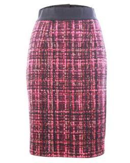 Giambattista Valli Pink Tweed Skirt