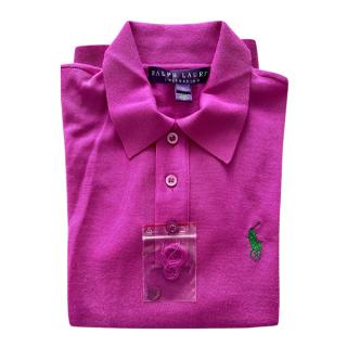 Ralph Lauren Collection Cashmere Polo Shirt
