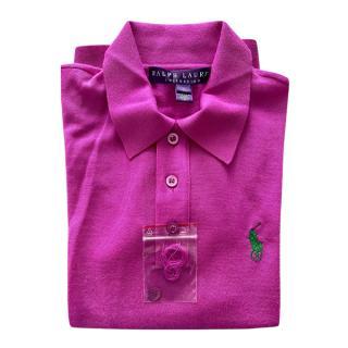 Ralph Lauren Collection Cashmere Polo Shirt