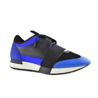 Balenciaga Blue & Black Race Runners
