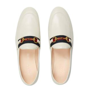 Gucci Women's Loafer with Web Detail