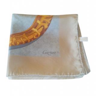 Cartier Silk Printed Scarf 90cm x 90cm