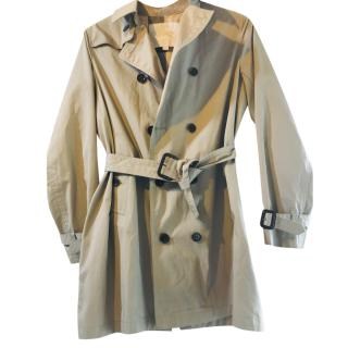 Burberry Kids 12Y Gabardine Trench Coat