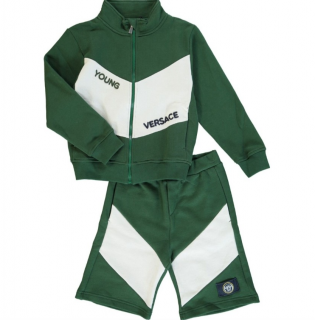 Young Versace 4Y Green/White Track Suit