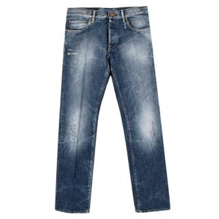 Jacob Cohen Mens Straight-Leg Jeans
