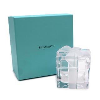 Tiffany & Co Crystal Gift Box Trinket Box