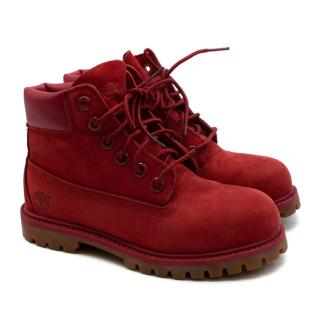 Timberland Red Suede 6
