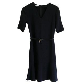 Stella McCartney Black Belted Mini Dress