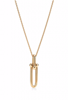 Tiffany & Co 18K Yellow Gold HardWear Link Pendant