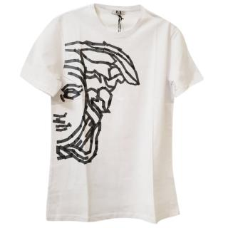 Versace Medusa Head White T-Shirt