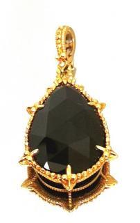 Judith Ripka Black Onyx & Diamond Calypso Pendant