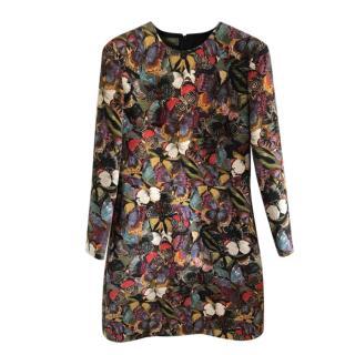 Valentino Garavani Butterfly Embroidered Dress
