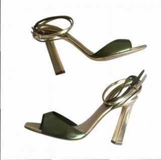 Dior Olive Green Absolu Sandals