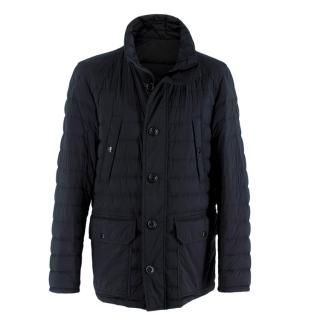 Moncler Black Dartmoor Quilted Down Coat