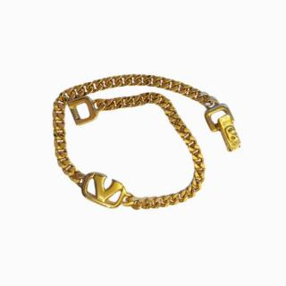 Valentino V Logo Vintage Bracelet