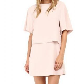 See by Chloe Blush Crepe Mini Dress