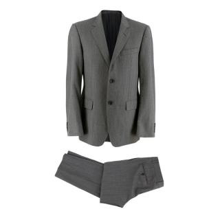 Gucci Grey Wool Single-Breasted 2-Piece Suit