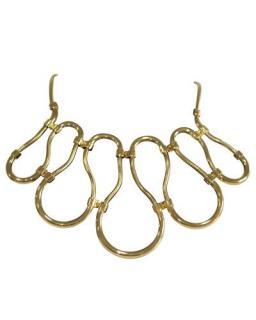 Lanvin gold metal collar