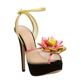 Charlotte Olympia  'Pomeline in Bloom' sandals