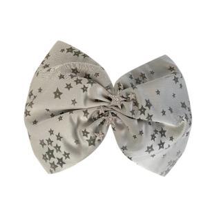 Jimmy Choo Star Print Embellished Turban Headband