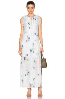 See By Chlo� Floral Print Georgette Maxi Dress