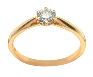 Cred 0.3ct diamond solitaire ring