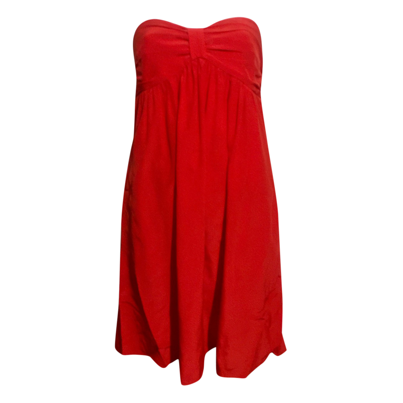 Zimmermann Red Strapless Mini Dress