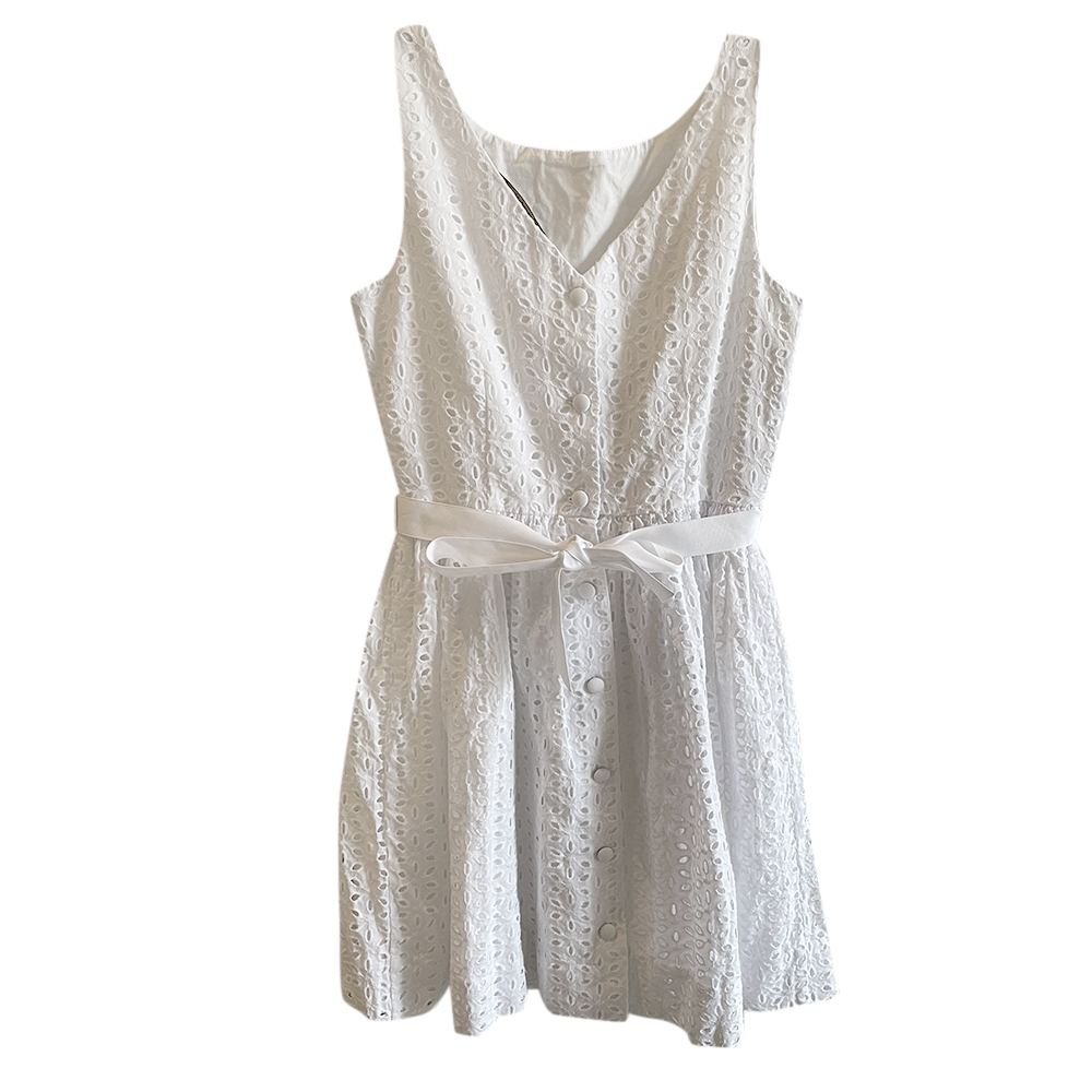 Polo Ralph Lauren White Broderie Anglaise Dress