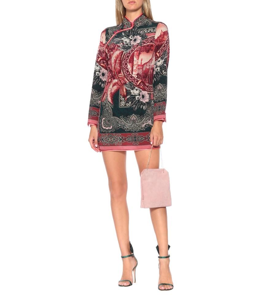 For Restless Sleepers Aura Printed Shirt Dress
