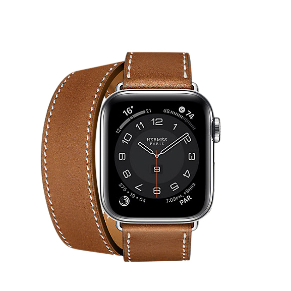 Hermes Series 6 case & Band Apple Watch Hermes Double Tour 40 mm