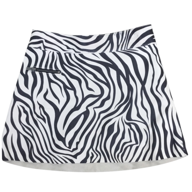 Bonpoint Zebra Print Mini Skirt