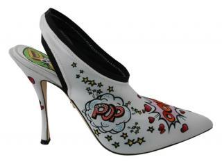Dolce & Gabbana printed WOW sandals