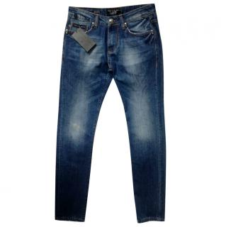 Philipp Plein Homme blue wash denim jeans